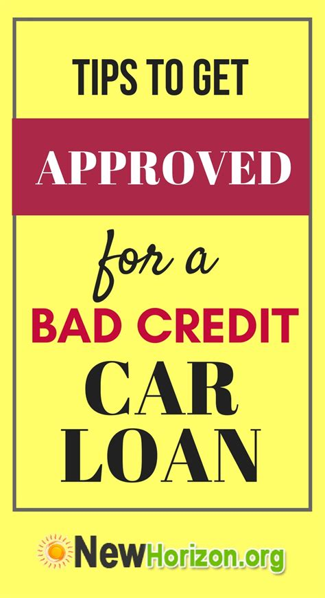 approved bad credit car loans simple steps to get approved for bad credit car loan