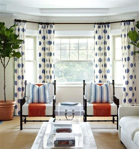 navy and white polka dot curtains contemporary living room with curtains polka dot navy