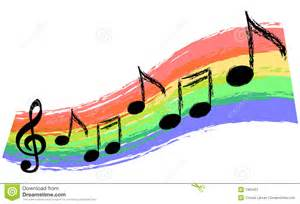 Wallpaper Borders For Bedroom music rainbow stock illustration image of lines music
