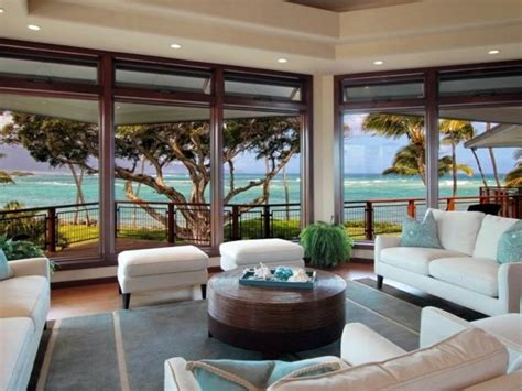 Living Room Furniture Hawaii Residence In Hawaii With A Creative Design Interior