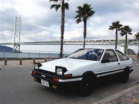 Toyota Sprinter Trueno Ae86 Cars Today The Legend 1984 Toyota Sprinter Trueno Gt Apex