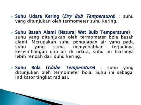 Termometer Bola Basah heat stress dan spirometri