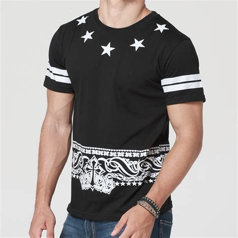 Tshirt New Hip Hop 2015 summer new hip hop t shirt sleeve o neck