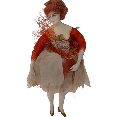 bisque fashion doll antique 1900s german bisque fashion doll from tiggertiques