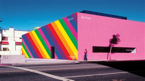 paul smith paul smith s pink boutique partners with instagram on