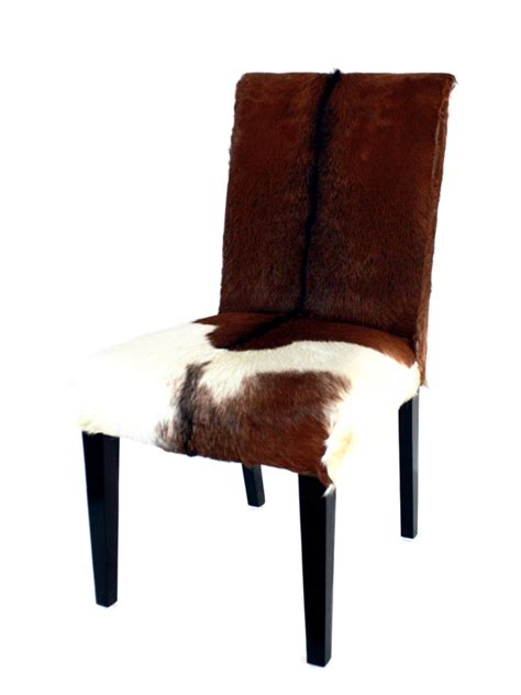 stuhl mit fell stuhl quot kitzb 252 hel quot mit echtem fellbezug der tischonkel