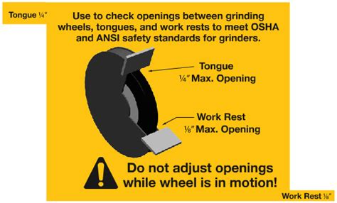 bench grinder safety rules theatre safety blog january 2012