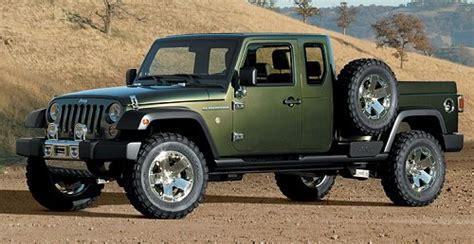 jeep concept truck gladiator reports jeep wrangler on the way onallcylinders