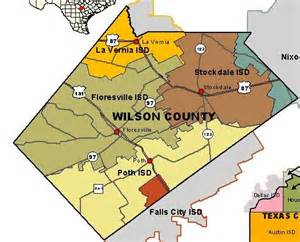 wilson county map department of state health services region 8 wilson