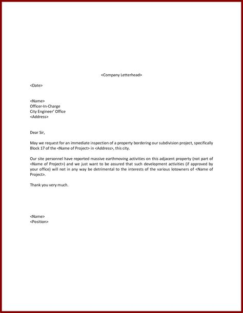 request letter to company for accommodation accommodation request letter to company sle