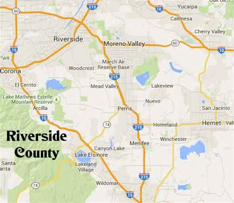 County Of Riverside Search Map Of Riverside County Ca Cities Images