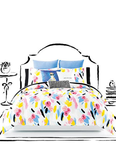 kate spade comforter twin xl kate spade new york paintball floral twin xl comforter set