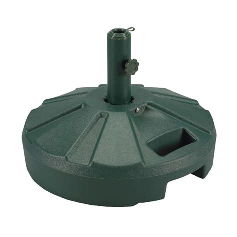 Patio Umbrella Holder Green Umbrella Stand 50 Lbs