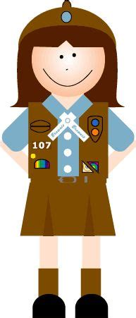 Scout Brownie Clip by 1000 Images About Scout Clip Brownie On