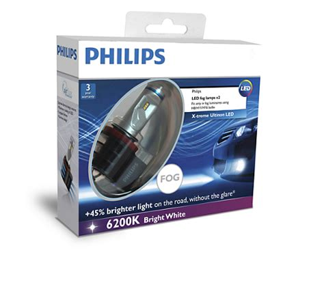 Lu Kabut Led Mobil x treme ultinon led lu kabut mobil 12834unix2 philips