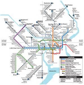 Septa Subway Map septa clickable regional rail amp rail transit map