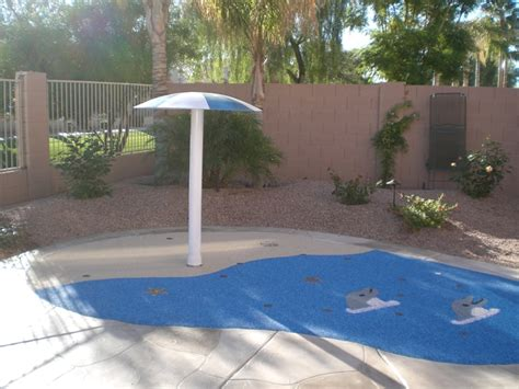 backyard splash pad backyard splash pads and splash parks rain deck
