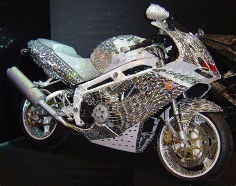 ladari di swarovski mercedes sl 600 luxury la moto cosparsa di