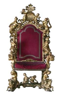 taburete del siglo xviii tronos del mundo en versalles correo de las culturas del