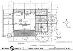 Japanese House Floor Plans Japanese Traditional House Plan Tea House Drawing Building