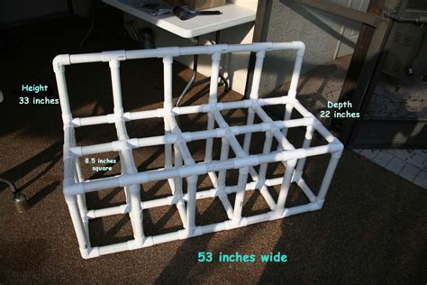 Scuba Tank Rack by Build A Pvc Scuba Tank Rack