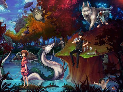film manga ghibli download hayao miyazaki wallpaper 1024x768 wallpoper 285801
