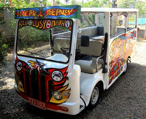 electric car philippines electric vehicles philippines phuv electric jeepney