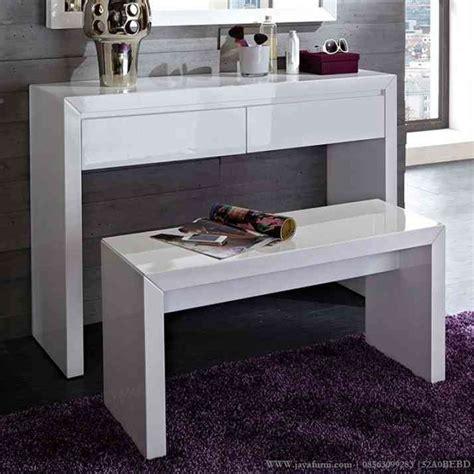 Meja Rias Minimalis Putih meja rias putih duco minimalis jayafurni mebel jepara