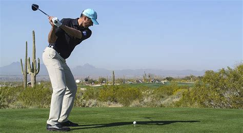 kuchar golf swing instruction go shorter flatter for more power