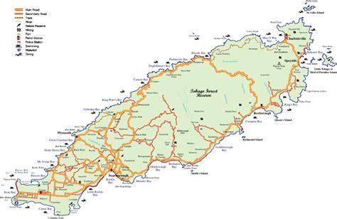 and tobago map tobago map my