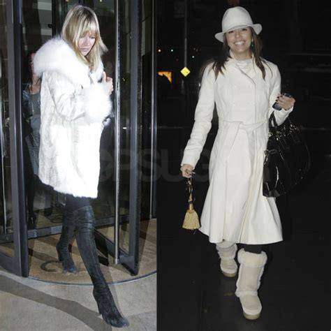 Compare Contrast Wearing A Winter White Coat by Compare Contrast Wearing A Winter White Coat Popsugar