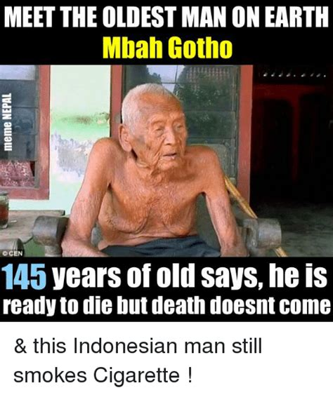 meet the oldest person to ever appear in sports meet the oldest man on earth mbah gotho cen 145 years of