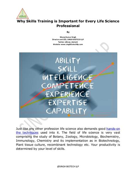 Importance Of Soft Skills For Mba Students by Why Skills Is Important For Every Science