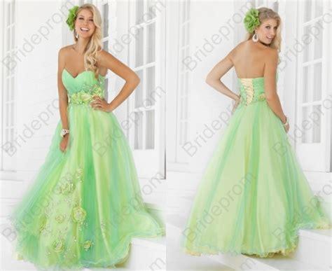 Dress Import Hijau 1 prom dress prom dresses on luulla