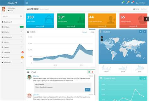 html 5 base template 28 best bootstrap admin themes that actually add value
