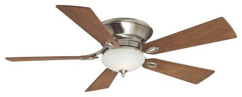 modern flush mount ceiling fan delano ii 52 quot flush mount ceiling fan modern ceiling