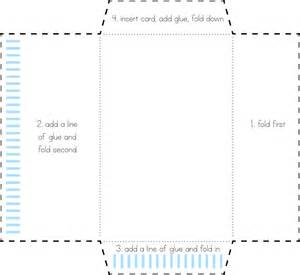 how to make your own envelope fairview place thrifty thursday