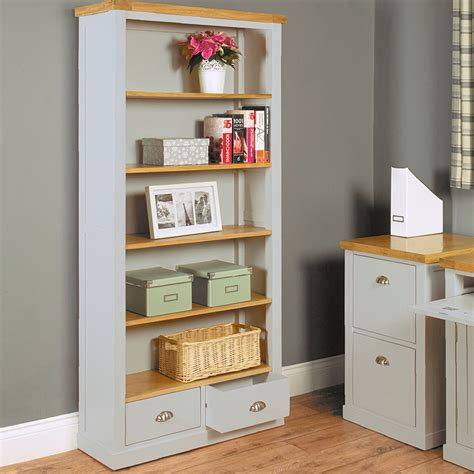 tall oak bookcase with drawers tall bookcase bookcase with drawers book cases candle