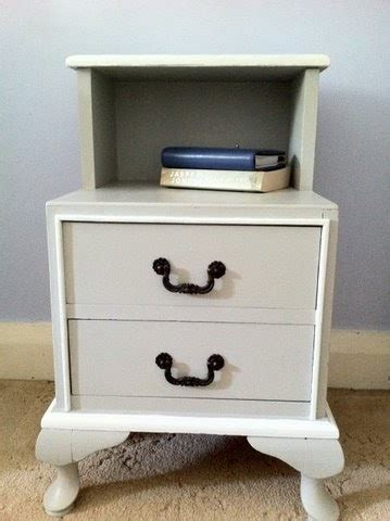 Grey And White Bedside Table Lilyfield Grey And White Bedside Table