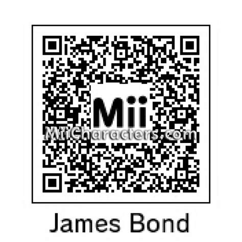 mii layout guidelines code for oo7 the james bond 007 23 film collection