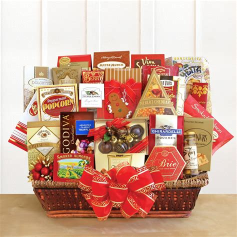 holiday bonus extravaganza gift basket holiday gift