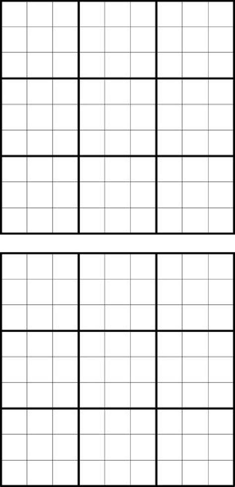empty grid blank sudoku grid for free tidyform