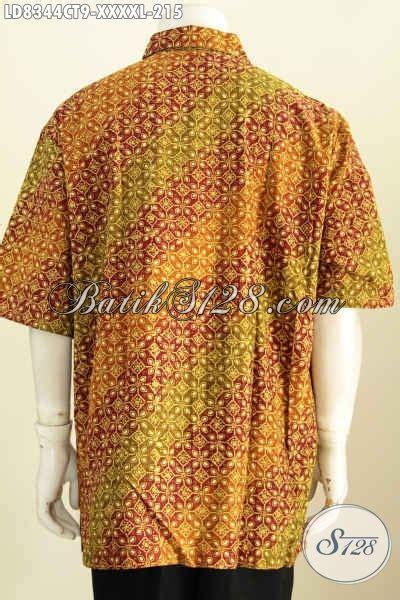 desain kemeja endek baju batik lengan pendek untuk pria kemeja batik desain