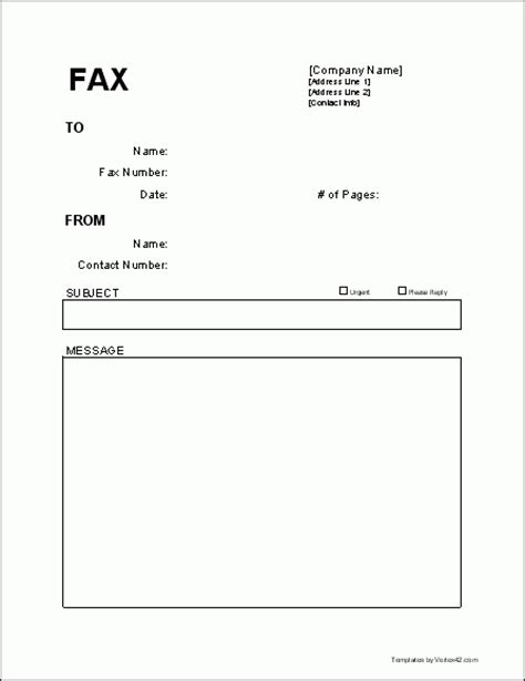 fax cover letter template beepmunk