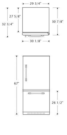 Typical Kitchen Island Dimensions big chill retro fridges retropolitan big chill