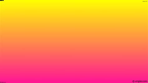pink and yellow wallpaper yellow pink gradient linear ffff00 ff1493 60 176
