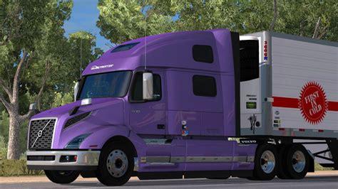 volvo vnl globetrotter   ats ats mod american truck simulator mod
