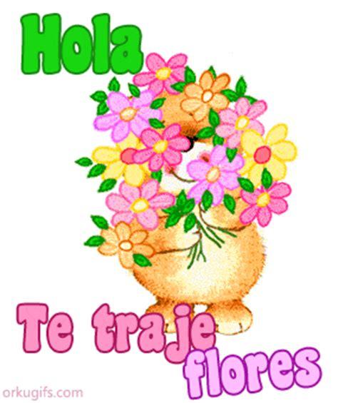 imagenes de hola con rosas hola te traje flores im 225 genes y tarjetas