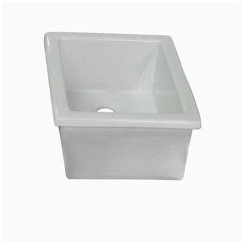 barclay products drop in bathroom sink in white 4