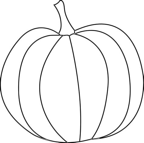 easy pumpkin coloring page here s a pumpkin digital st for fall and thanksgiving